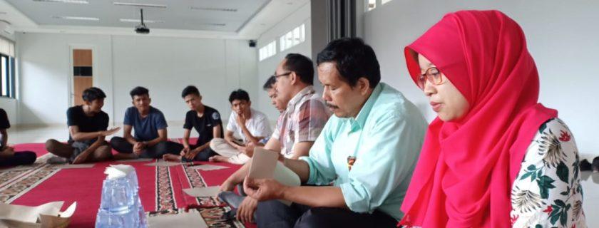 Silaturahmi dan ramah tamah dengan Mahasiswa Teknik Mesin S1